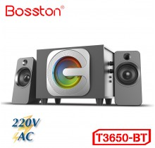 Loa 2.1 Bosston T3650-Bluetooth-Led RGB - AC 220V --